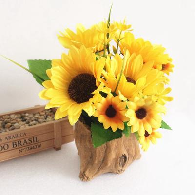 Fake Sunflowers Silk Flowers Table Centerpieces Arrangements Home Indoor Buy At A Low Prices On Joom E Commerce Platform