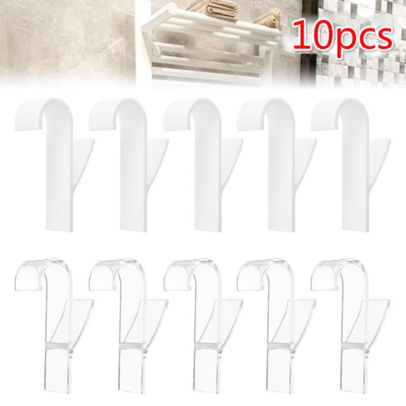 3PCS Rotation Hooks Nail Free Traceless Clothes Hangers Towel Robe Hangers for