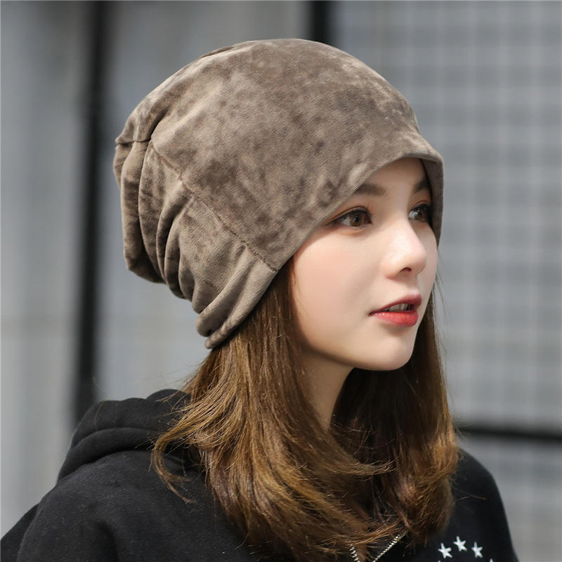 New Winter Warm Womens Girls  Wool Knit Hats Ski Beanie Ball Caps Ear Flap Hats