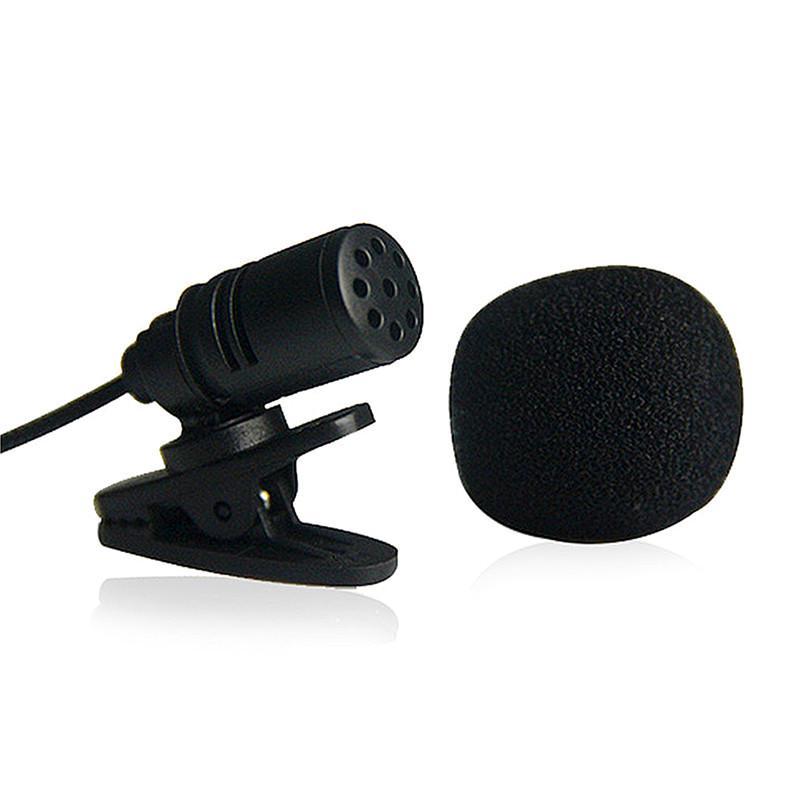 Универсальный 3,5 мм мини-микрофон наушников лацкане петличный клип микрофон лекция преподавания Конференция фото