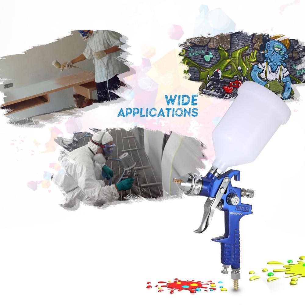KKmoon 1.4/1.7mm мини HVLP воздуха распылителем Аэрограф комплект пальто живопись распыления инструмент – купить по низким ценам в интернет-магазине Joom