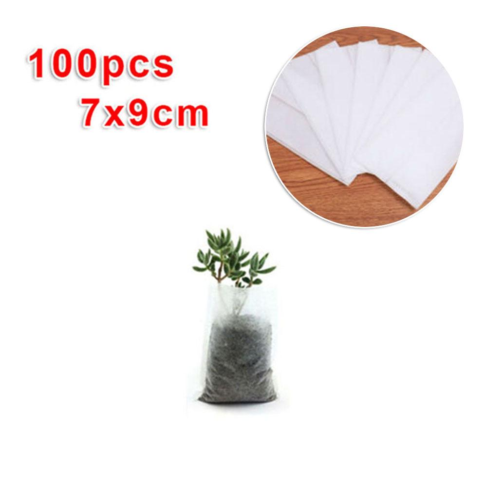 50Pcs Garden Mesh Net Pot Hydroponic Basket Planting Nursery Cup Holder Reliable