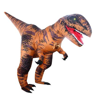 Adult T-REX Mascot Inflatable Costume Christmas Cosplay