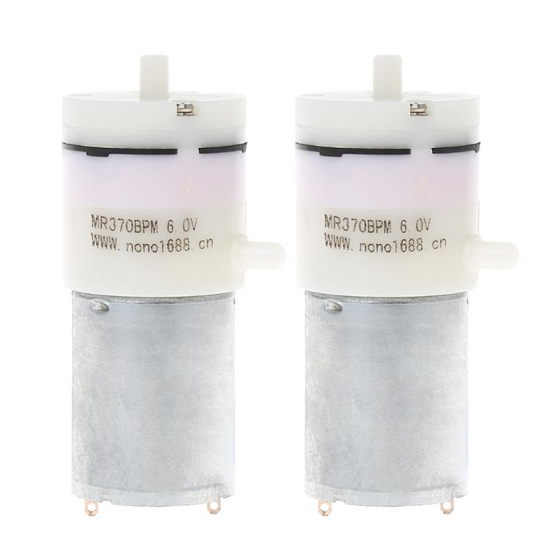 DC 6V Mini Air Pump Motor for Aquarium Tank Oxygen Circulate  YM