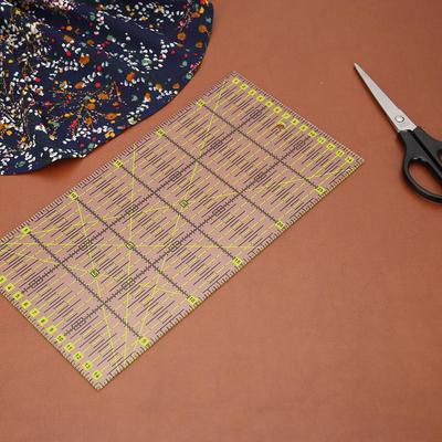 Quilting Sewing Ruler Patchwork Feet Tailor Yardstick Cutting DIY Handmade Tools