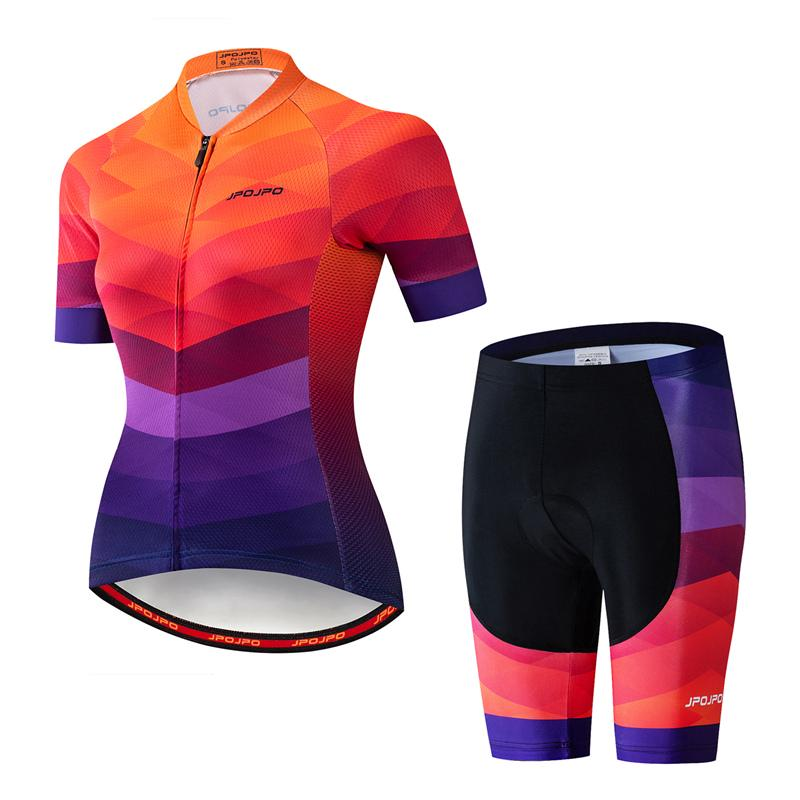 JPOJPO Mens Cycling Jersey Bicycle Short Sleeved Bicycle Jacket with Pockets