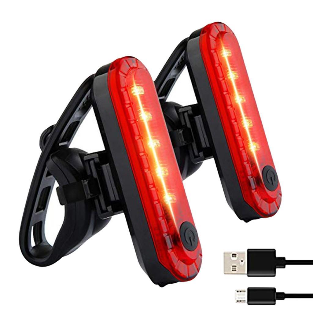 Rear Light Set Powerful 20000LM Rechargeable LED Mountain Waterproof Bike Head
