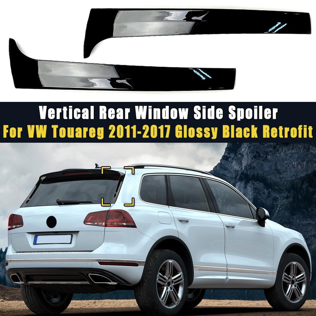 Rear Window Side Spoiler Canard Splitter For VW Tiguan MK2 2017 2018 2019 2020