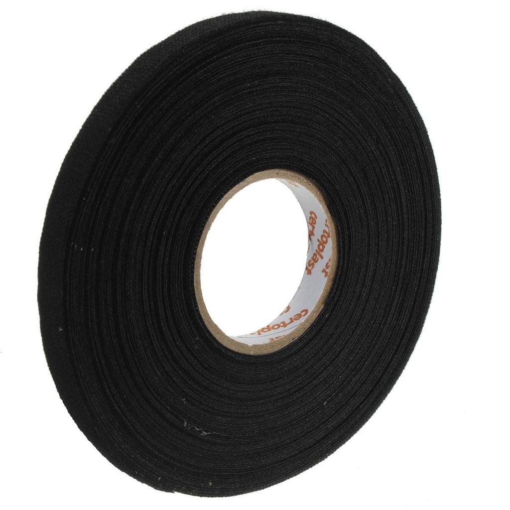 25m Car Adhesive Cloth Tape Fabric Cable For Harness Wiring Loom 1 Of 8
