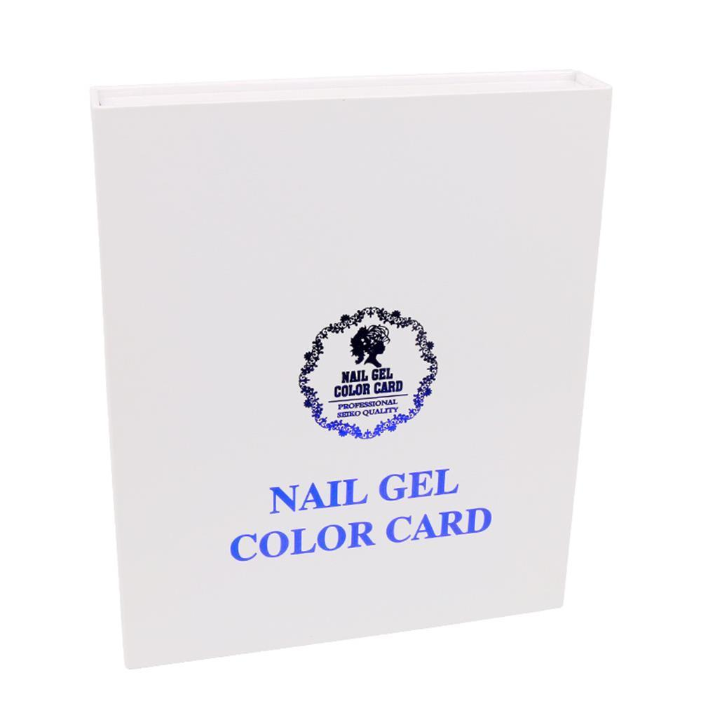 120Colors Manicure Tool Professional Gel Polish Box Chart Nail Color ...