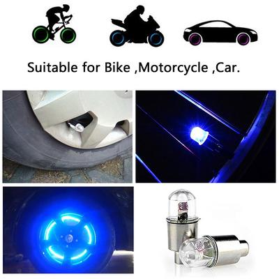 Light Hot Sale Motor Bike Valve 1Pair Cycling LED Light Wheel Lights Wheel