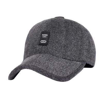 Casual Snapback Men Baseball Cap Dad Earflaps Casquette Thicken Warm Winter  Hat 931cd7258999