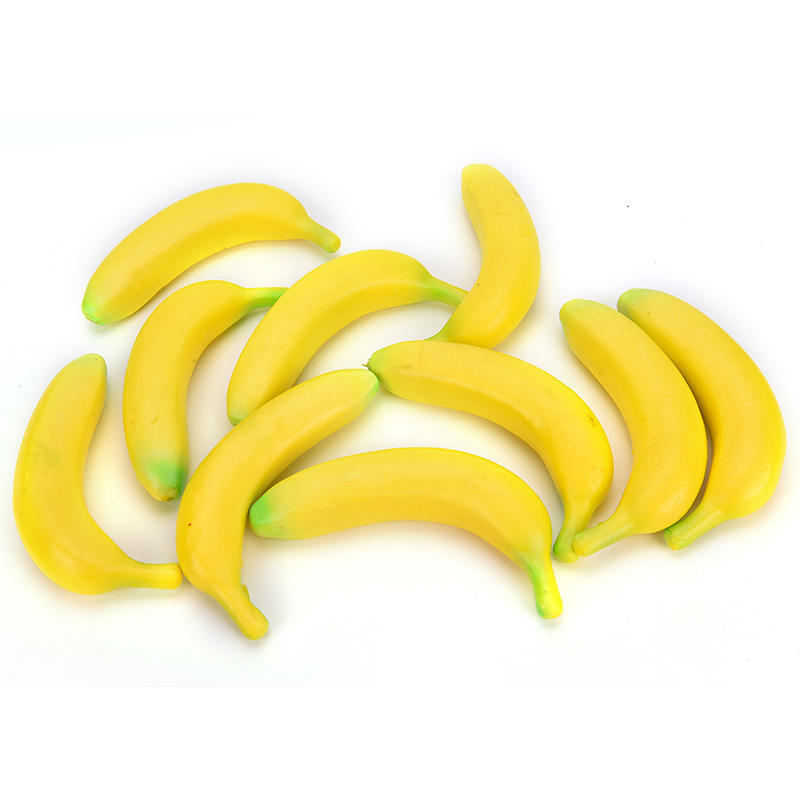 1 Banana Stress Ball Releiver Novelty Fruit Releif Squeeze Squidgy Joke Tension