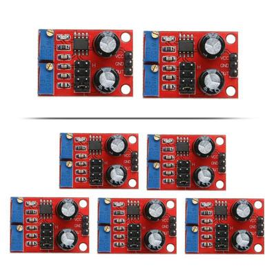 2 Pcs/5Pcs NE555 Pulse Frequency Duty Cycle Adjustable Module Wave Signal  Generator