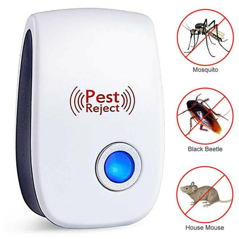 Ultrasonic Mouse Pest Repeller Rodent Control Electronic Mosquito Insect Killer