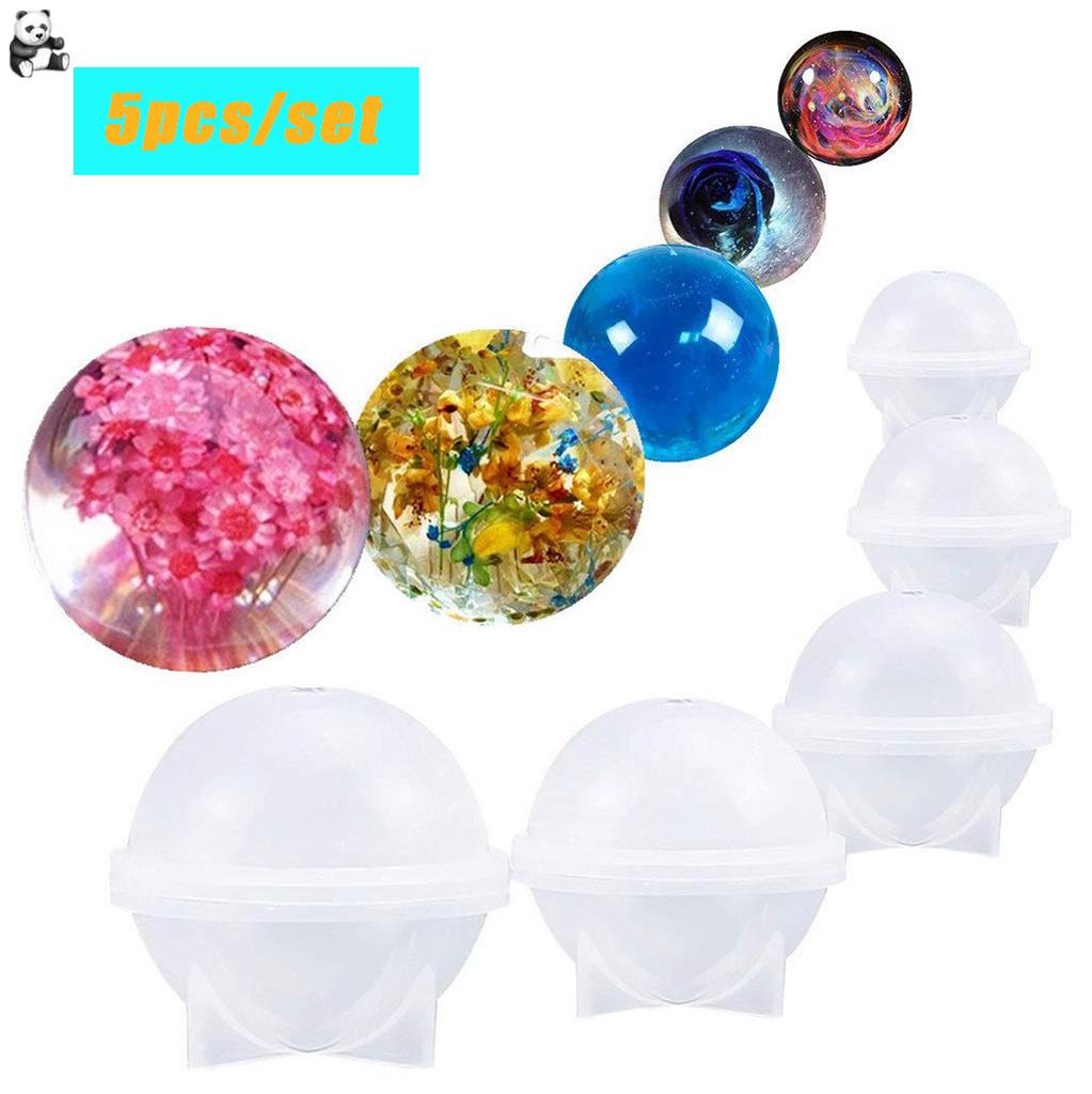 Sphere Round Shape Silicone Mold Mould for Resin Casting Jewelry Making 20mm