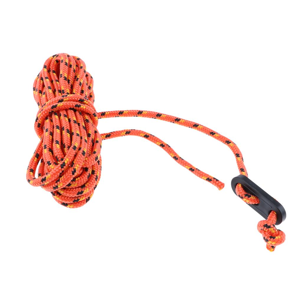 3.5mmx4m Camping Tent Guyline Rope Guy Line Cord Paracord Tarp Accessories
