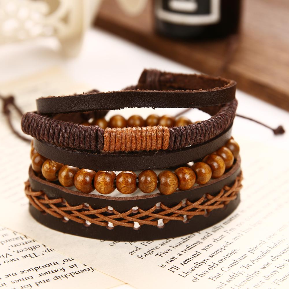 Leather bracelet,pearl leather bracelet,leather pearl bracelet,handmade weaved pearl bracelet,friends birthday gift,genuine leather bracelet
