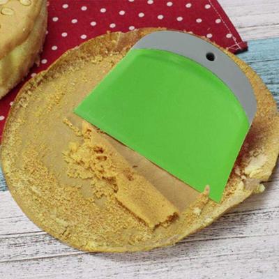 Torta dellacciaio inossidabile della torta della taglierina liscia crema Spatola attrezzo della torta di cottura della decorazione della pasticceria strumento per alimenti Raschietti burro da cucina