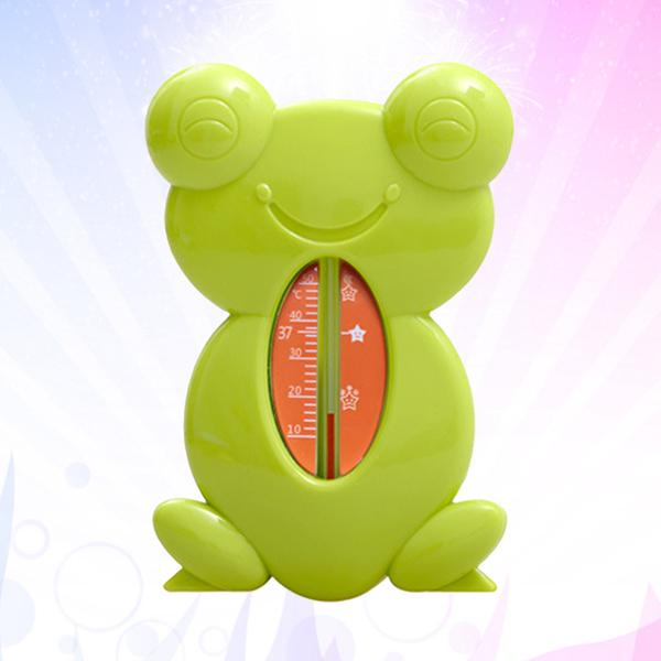 Waterproof Room Thermometer Turtle Shape Bath Water Temperature Gauge Floating Bathtub Toy Digital Baby Bath Thermometer Toy and Clock as Shown