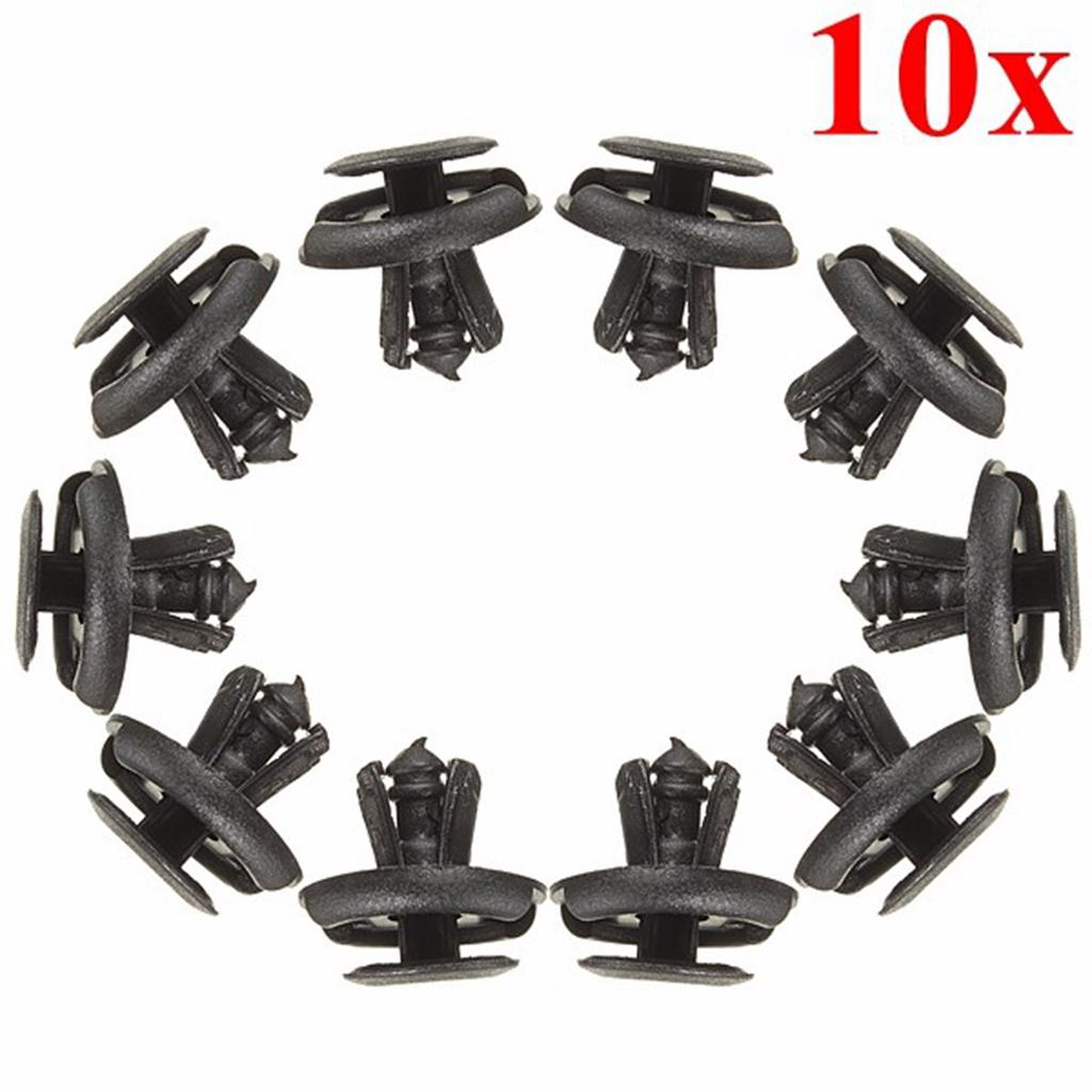 10x Audi 6-8mm PUSH Taglia Fermo Clip Rivetto