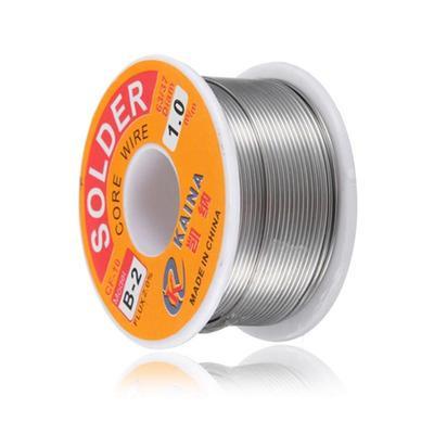 2Pcs Useful 0.8mm 63//37 Tin Lead Rosin Core Solder Welding Iron Wire Reel WT