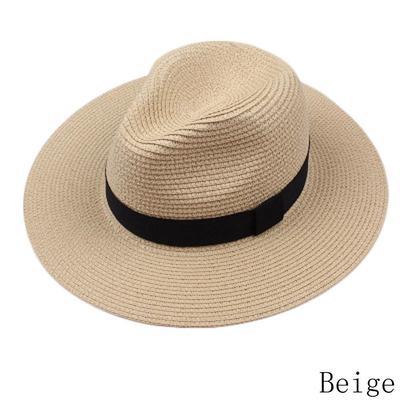 Femmes Hommes Fedora Trilby Gangster Chapeau Été Plage Coton Maille Chapeau déformable