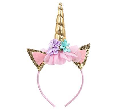 Unicorn Headwear Kids Girl Children Women Birthday Party Headband Dress Party Headdress Cosplay Party Unicorn Headband