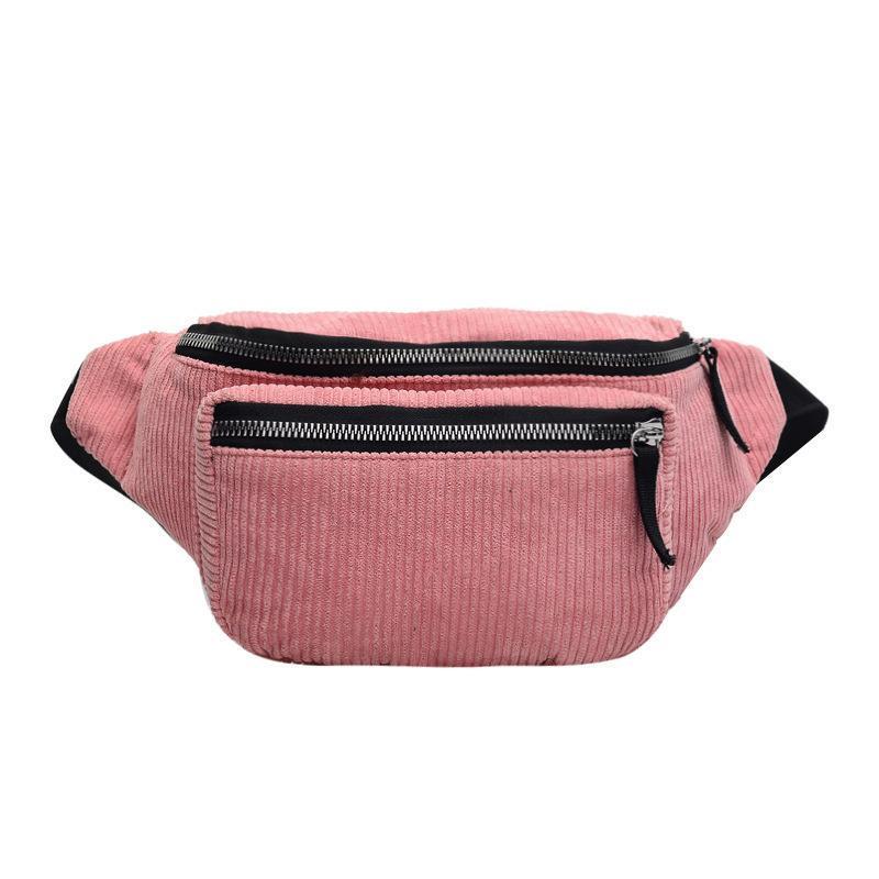 Corduroy belt bag,fanny pack,waist bag