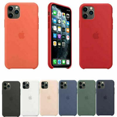 Case For iPhone 11 X XS Max XR Silicone Cover iPhone 5 SE 6S 7 8