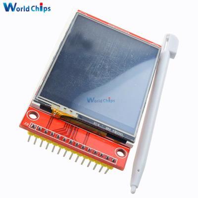 "LCD Touch Panel 240x320 2.4/"" SPI TFT Serial Port Module With PBC ILI9341 3.3V//5V"