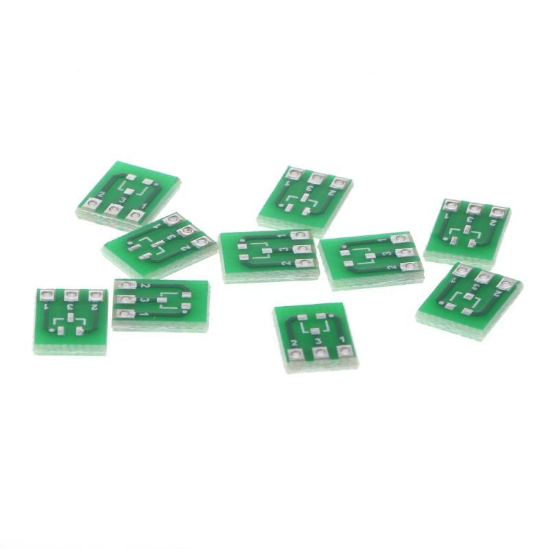Pack of 10pcs 6 pin SOT23 To DIP Adapter PCB Board SMD Converter Board NEW