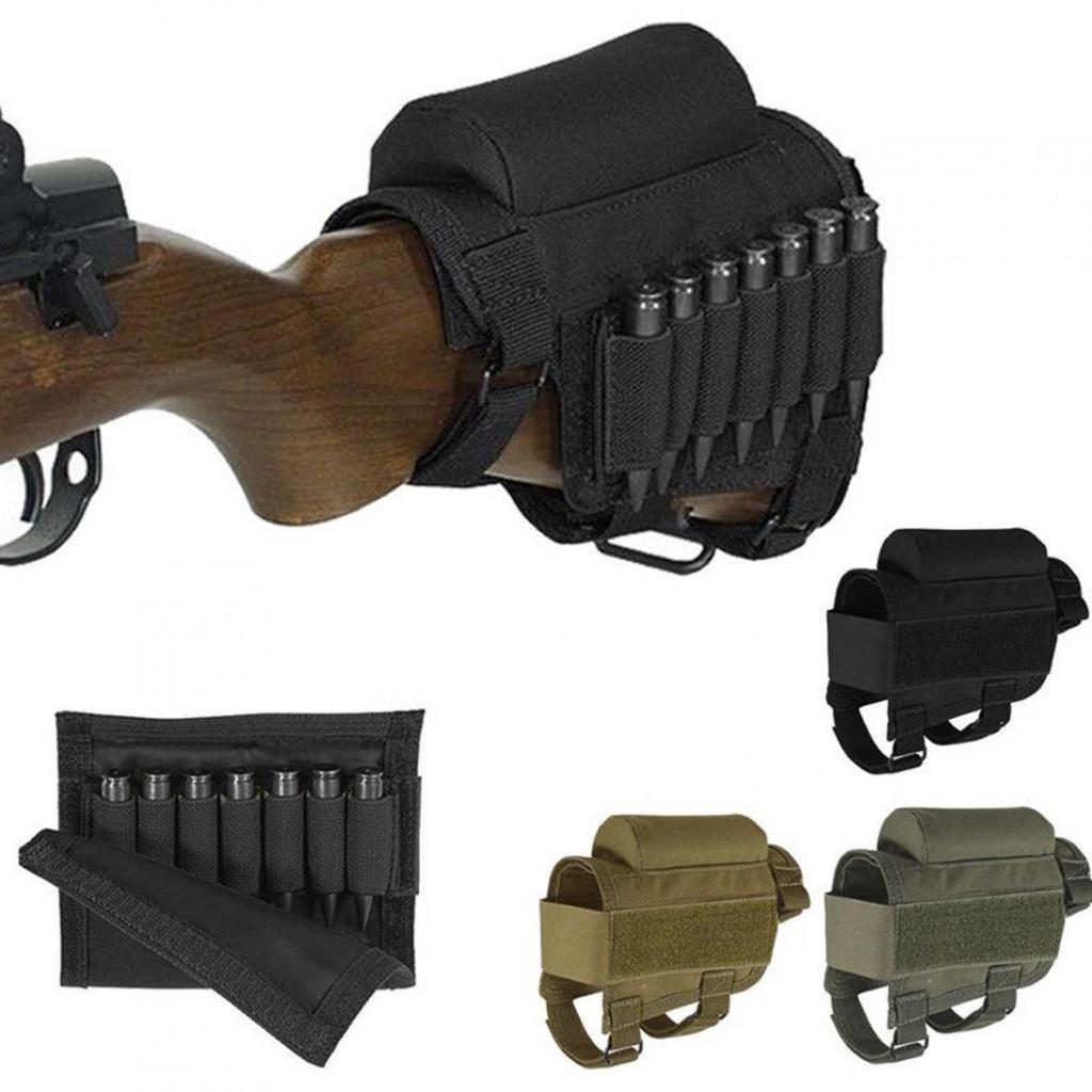Taktische Nylon Schulterstütze Wangenauflage mit Munition ...