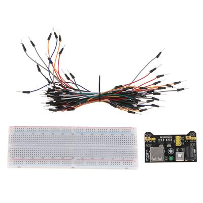 1PC MB-102 red and blue line breadboard 830 hole breadboard