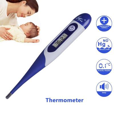1pcs Baby Child Adult Body Medical Digital Lcd Heating Thermometer Temperature Measurement Mouth Measurement & Analysis Instruments Tools