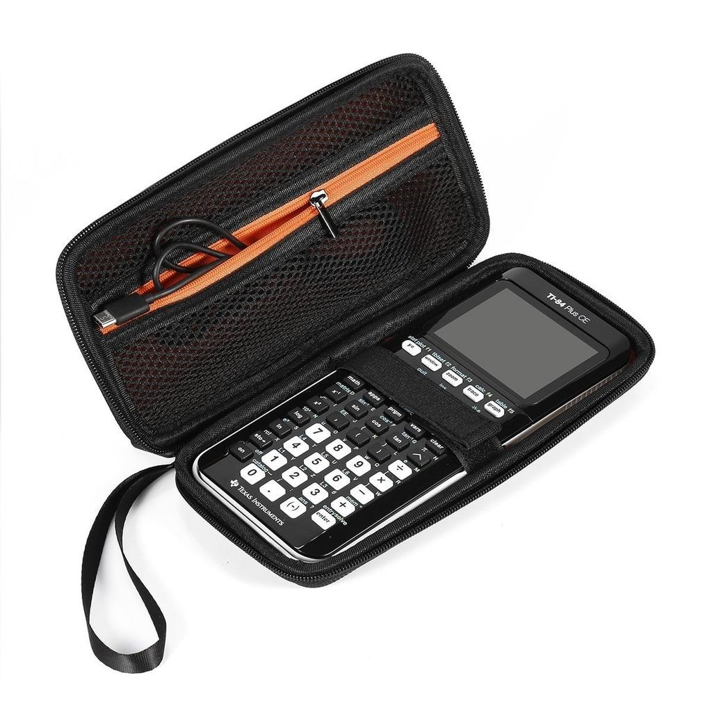 Graphing calculator tie 84 /plus CE texas instrument scientific hrad case  new