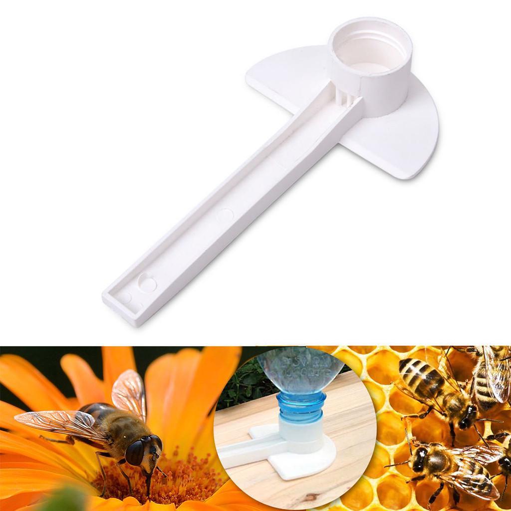 10Pcs Feeding Tools Water Feeder Bee Hive Honey White Beekeeper Durable