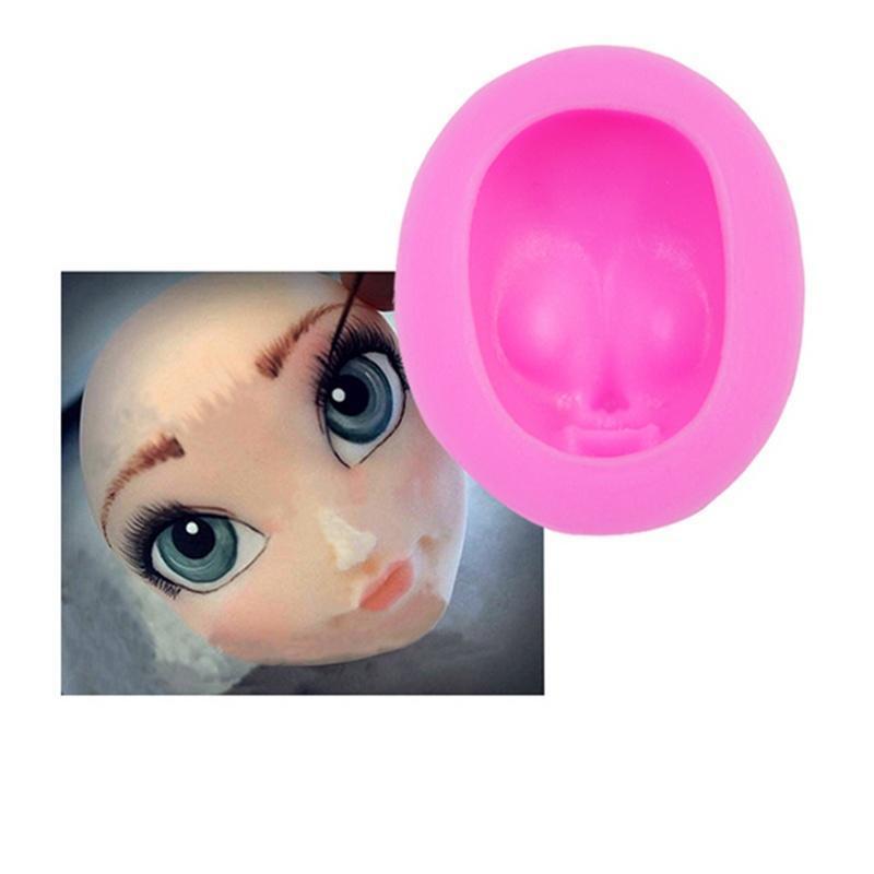 软陶翻糖脸模具