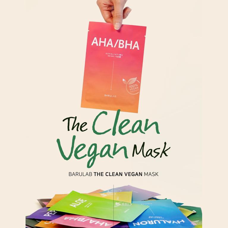 BARULAB] The Clean Vegan Mask 10ea (5 types) - buy from 32$ on Joom e-commerce platform