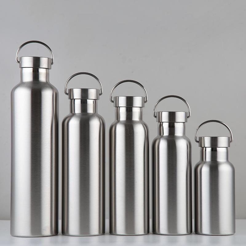 500ml Stainless Steel Thermos Water Bottle Portable Wide Mouth Can Cup Travel Bottle Stainless Steel Water Bottle Drinking Bottles