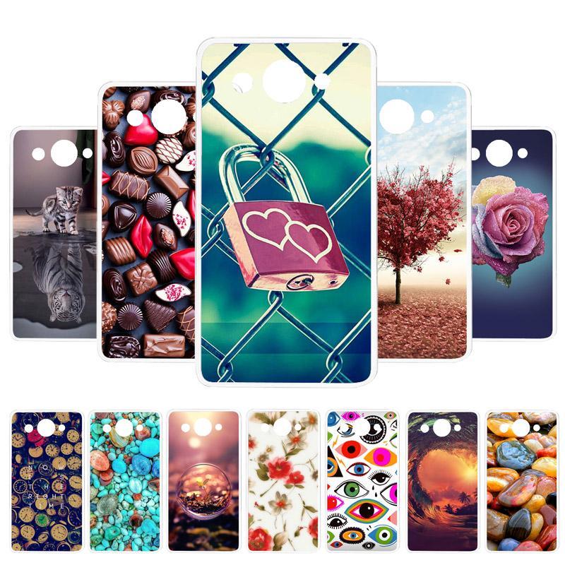 Окрашенные Мягкий Корпус для Huawei Y3 2017 Y5 Lite 2017 Y3 2018 Y5 2019 Case Back Cover TPU Phone Capa для Huawei Y5 2018 Honor 8S DUA-L22 Huawei Y5 2017