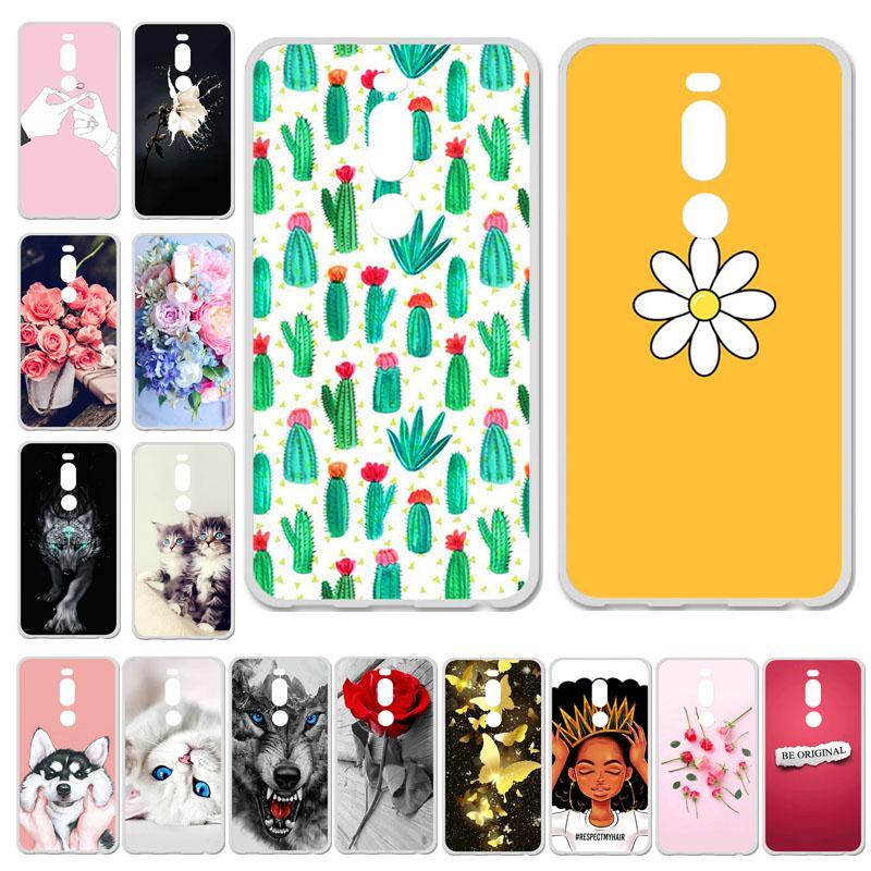 Акабеила телефон Чехлы для Меизу М8 м 8 Обложка для Меидзу 8-Lite M8Lite корпус силиконовый милый мешок