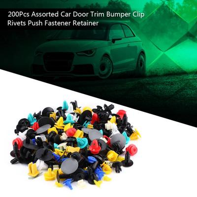 Qty30 OE# MR200300 Push Type Fender Retainer Bumper Clips for Mitsubishi Honda
