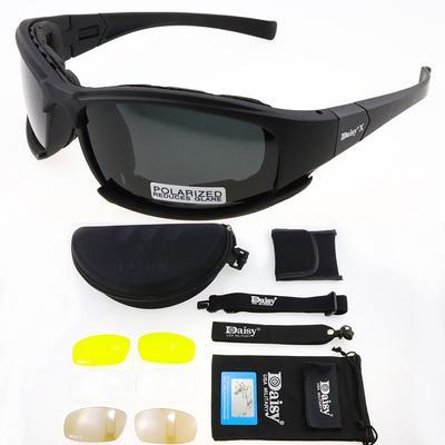 X7 Polarized Photochromic Tactical Glasses Military Goggles Army Men Shooting Hiking Eyewear UV400