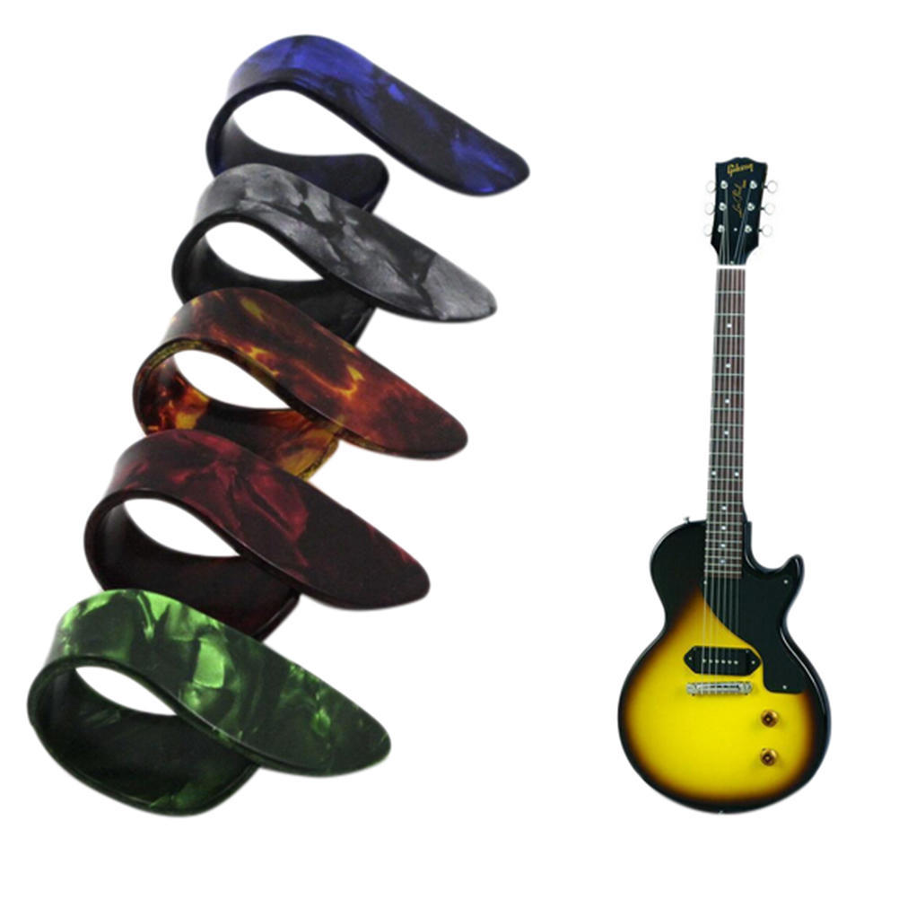 1pc Rubber Guitar Pick Holder With 2 Pcs Picks Plectrum Guitar Accessories X