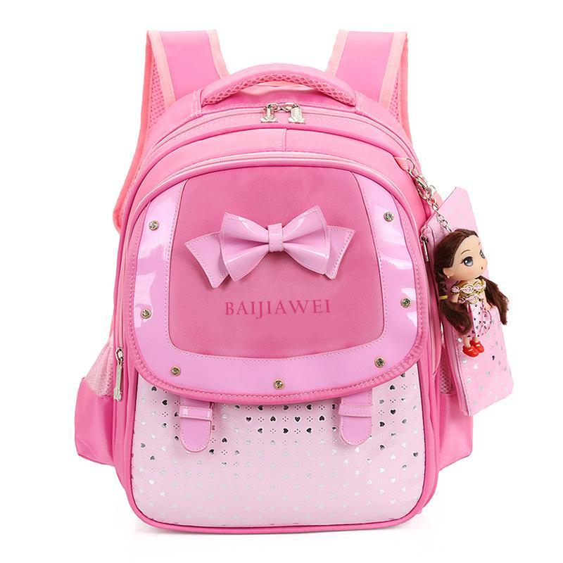66ca39342f21 BAIJIAWEI Детский рюкзак с принцессой для девочек 6-12 лет