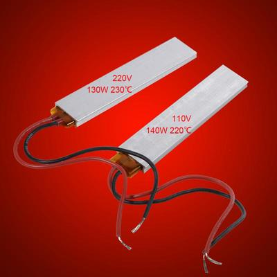 DC 12V//24V Aluminum PTC Heater Element Constant Heating Thermostat Plate NEW