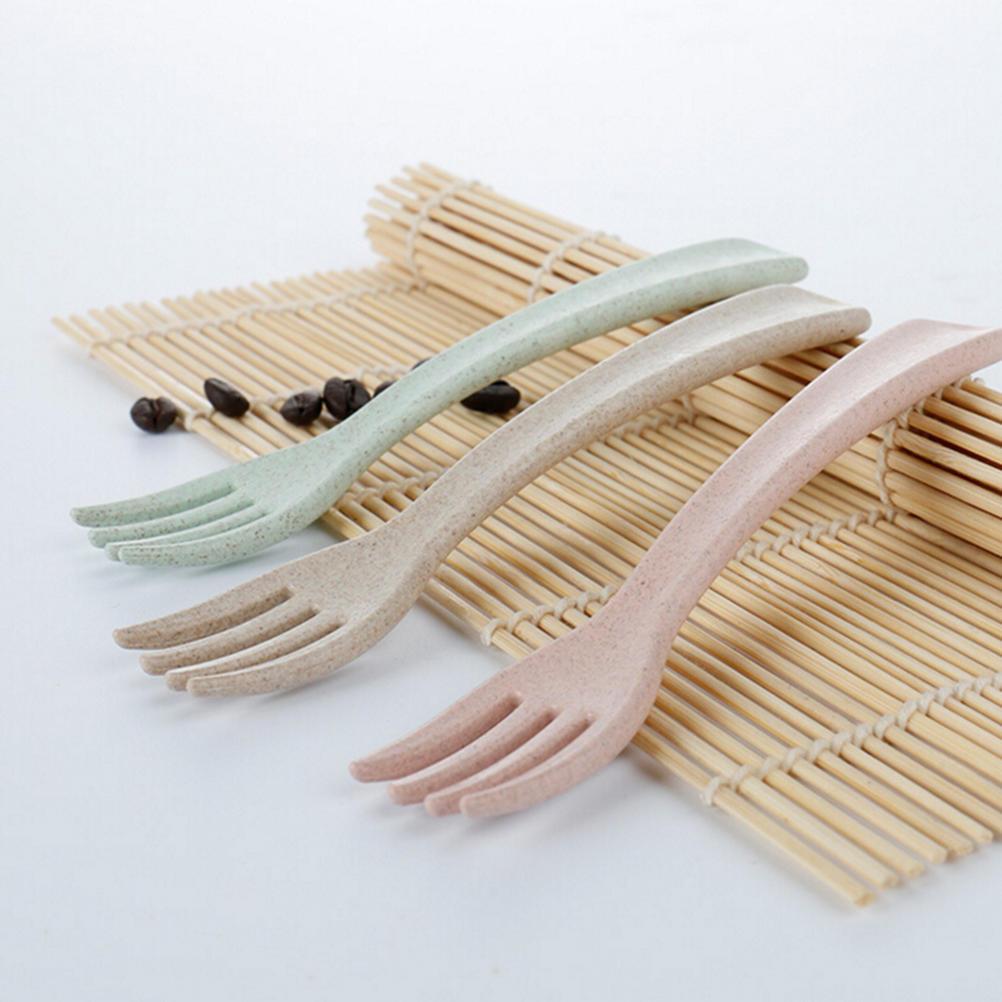 Safety Soft Baby Infant Temperature Heat Sensing Feeder Feeding Spoon//Fork x3