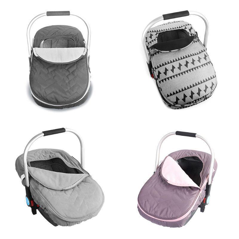 Newborn Baby Basket Car Seat Cover, Car Seat Blanket Cover