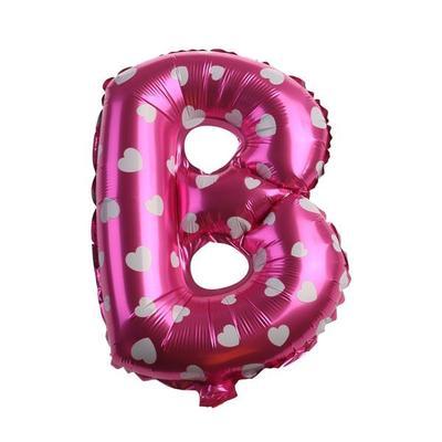 40,Letter E 40 Rose Gold Alphabet Letter Balloons Aluminum Floating Foil Film Balloon Mylar Balloons Party Decoration